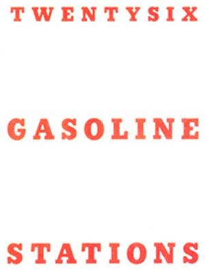 Buchcover von Twentysix Gasoline Stations