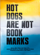 hot dogs are not book marks