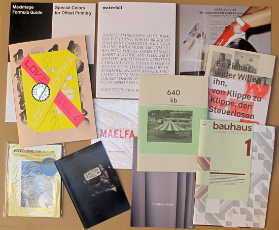 Maximage, waterfall, Foto.Zine, bauhaus Nr. 3, Local Myths - Love Spells. Bücher und Hefte von Nora Schultz, Sean Edwards, Richard Wagner, Oliver Kossack, Craig Atkinson und Jonathan Monk