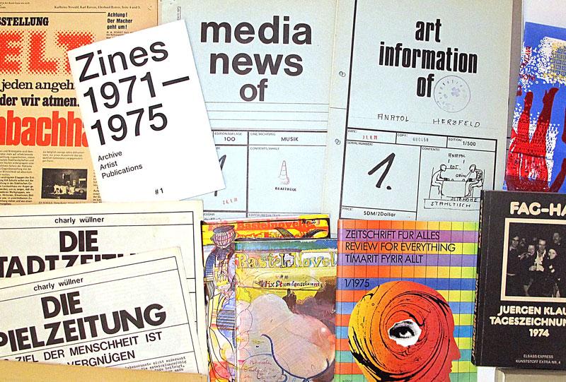 Zines #1 1971-1975