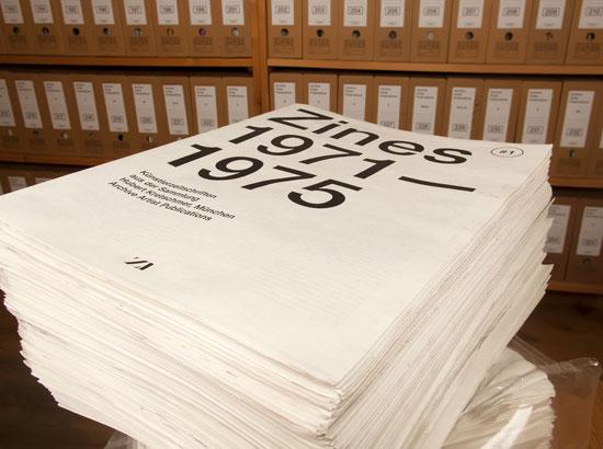 Zines 1 Die Zeitung zur Ausstellung