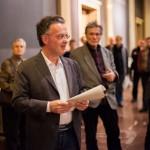Ansprache des Bibliotheksdirektors Dr. Rüdiger Hoyer