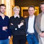 Das Team: Johannes Bissinger, Sabine Becker, <br>Rüdiger Hoyer, Hubert Ketschmer