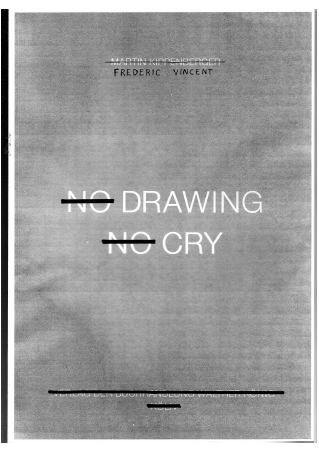 "La Bibliothèque Fantastique: ""No Drawing No Cry"" von Frédéric Vincent."