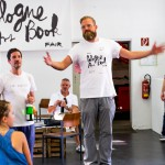 Eröffnung durch (Tim) (Curator), André Sauer (Director), Verena Maas (Creative Director)