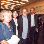 Béatrice Hernad, Gabriele Detterer, Maurizio Nannucci und Andreas Hapkemeyer