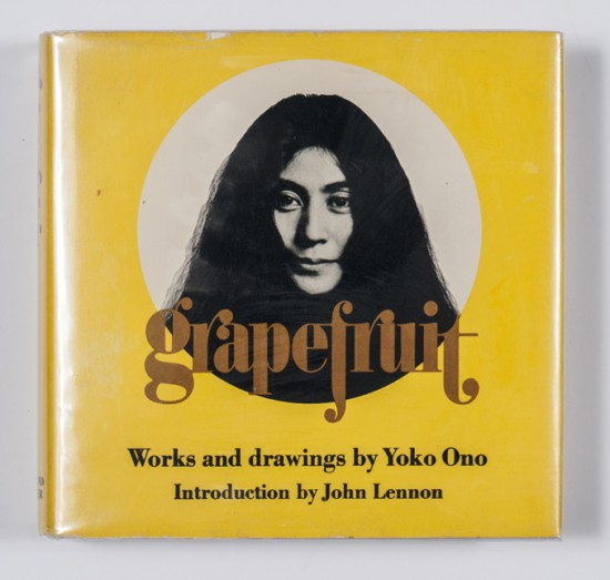 Yoko-Ono-Grape-fruit-1970