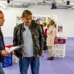 der Schriftsteller Thomas Glatz mit Bernhard Springer vom Plastic Indianer