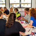 Workshop mit Steffi Müller und Klaus Dietl, das beißpony Artwork Team