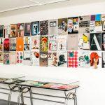 Objekt-Magazine im Kunsttempel 2018. Eingangsbereich mit Vitrinen