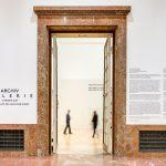Eingangsbereich zur Archiv Galerie, Foto Vadim Kretschmer