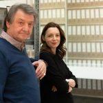 Hubert Kretschmer vom AAP und Sabine Prantl von der Archiv Galerie, Foto Vadim Kretschmer