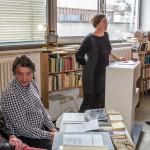 Reinhard Grüner, Hubert Kretschmer und Veronika Diem
