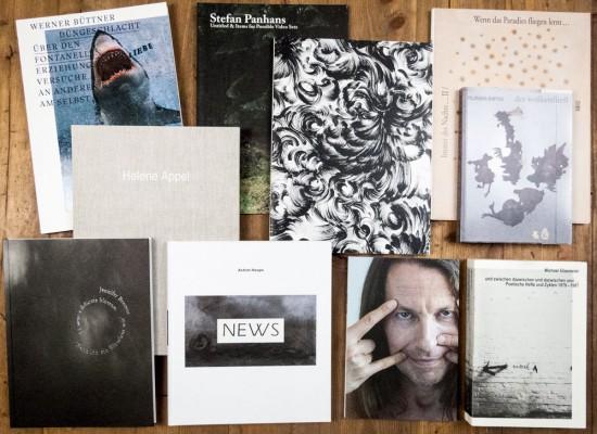 Künstlerbücher aus dem Textem-Verlag Hamburg