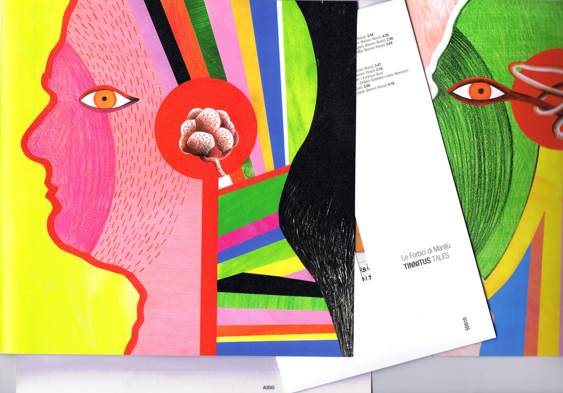 Farbklecks: Kunst aus der Klasse Main Post